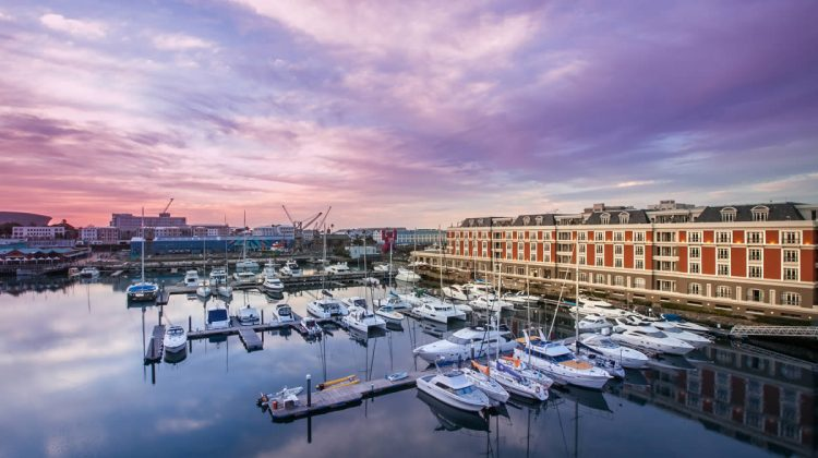 Accommodation in Cape Town - 5* luxury hotel - Cape Grace by the V&A harbour waterfront