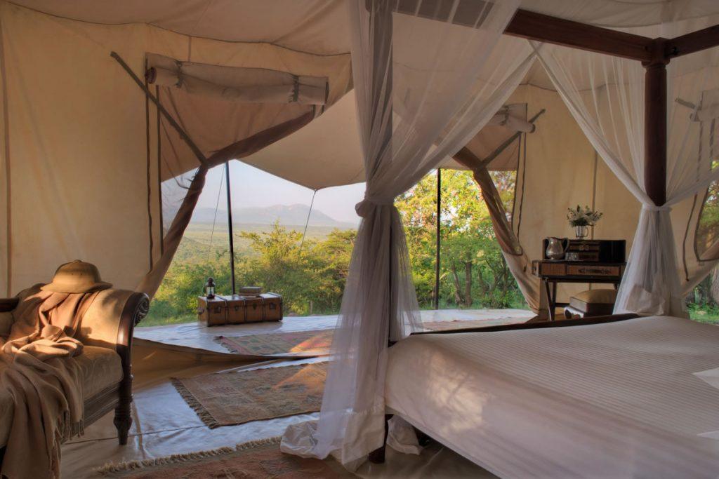 Cottar's 1920's Safari Camp tent