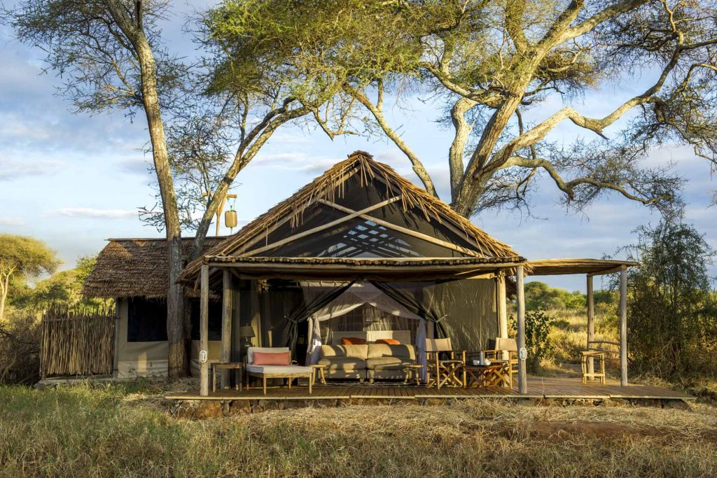 Safari lodge exterior Kuro Tarangire, Nomad Tanzania