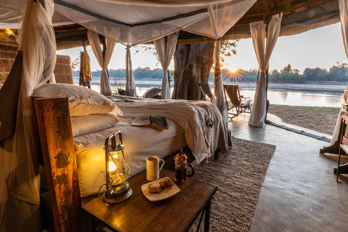 Safari in the south Luangwa valley as part of a pick and mix safari in Zambia and Malawi