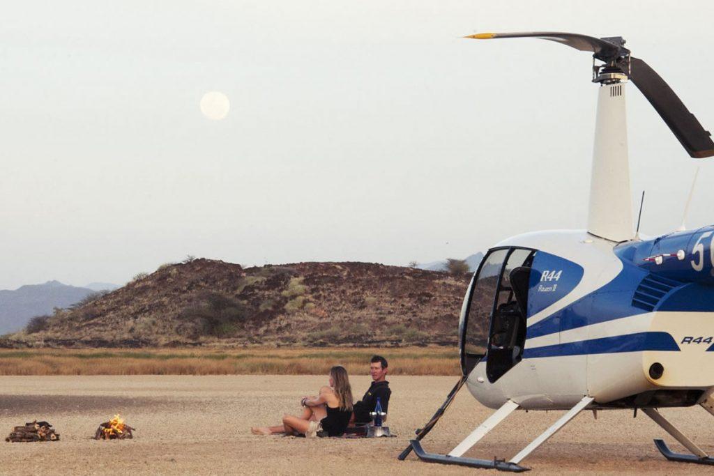 Ol Malo helicopter, Laikipia