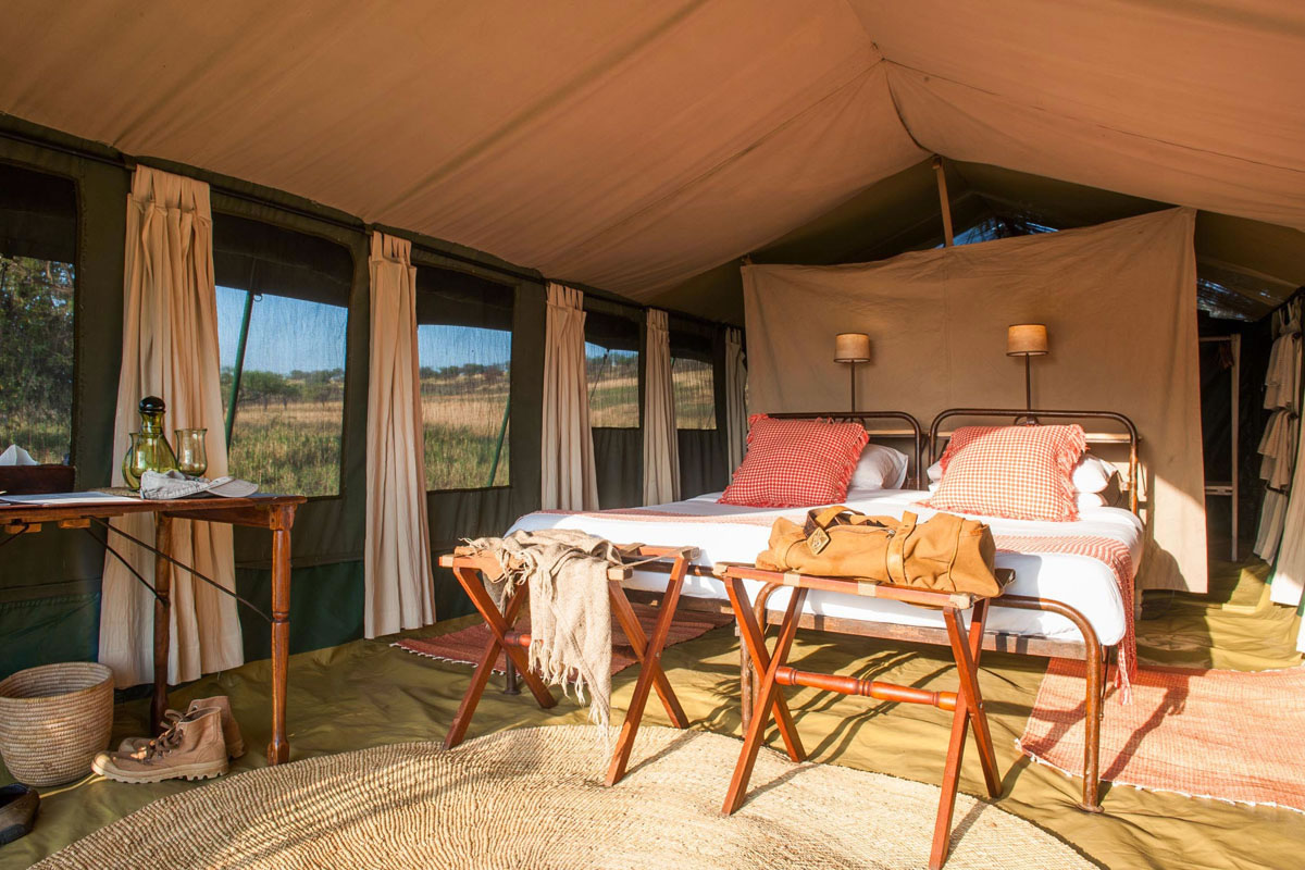 Serengeti Safari Camp Is A Luxury Mobile Camp Serengeti