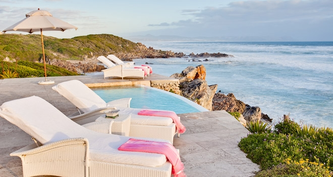 Breathtaking sea views at Birkenhead House, Cape region