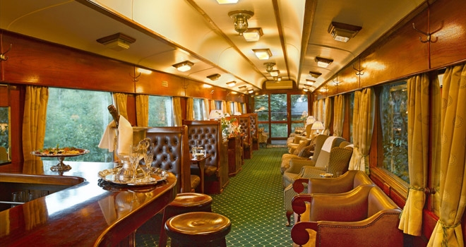 Bar car, Rovos rail