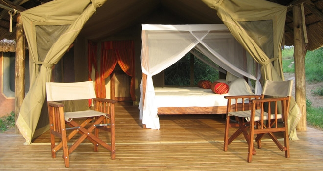 Mihingo Lodge Tent, Uganda safari