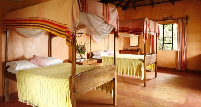 Ndali Lodge Bedroom Uganda safari