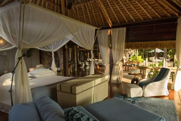 Island, Seychelles, villa interior