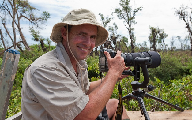 David a well-known wildlife photographer and author of several books