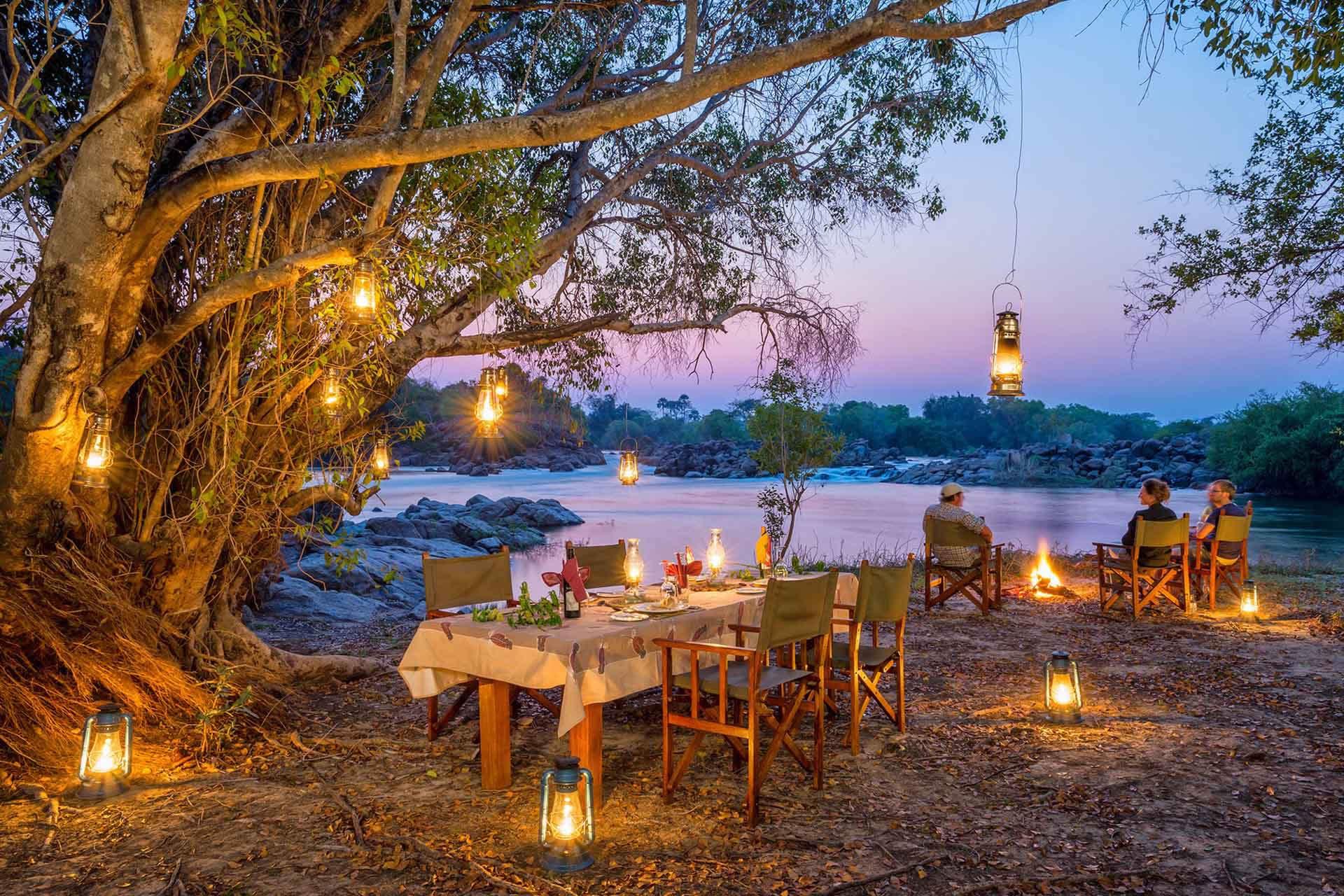 Kaingu Safari Camp on the Kafue River