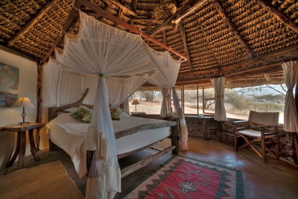 Lewa House, Lewa Conservancy bedroom