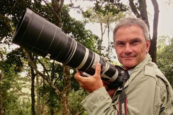 Warren Samuels BBC camerman big cat photographic safari