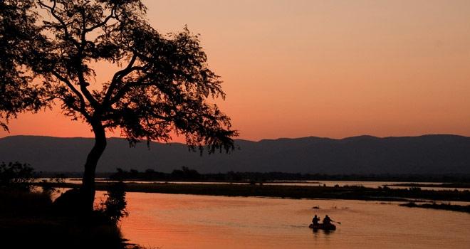 slider_ruwesi_canoe_trails_5 canoe safaris sunset of the Ruwesi Canoe Trails