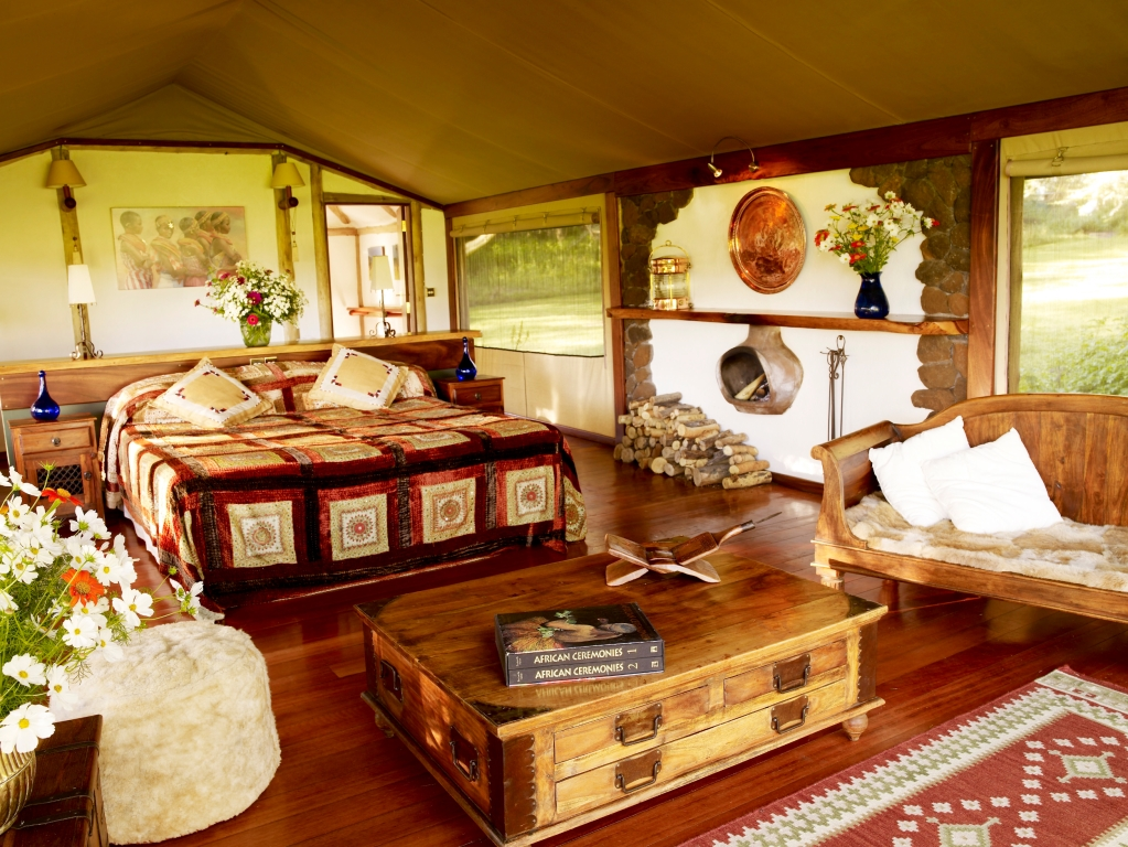 The Safari and Conservation Company - Sirikoi bedroom lewa kenya