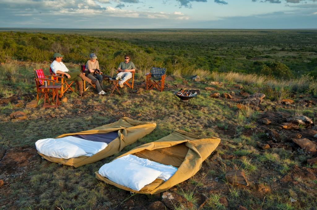 fly Camp sosian laikipia kenya campfire