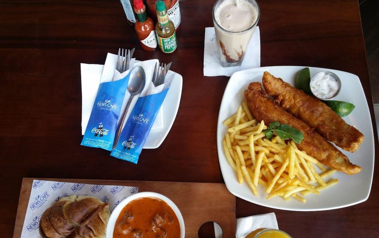 news cafe nairobi fish and chips