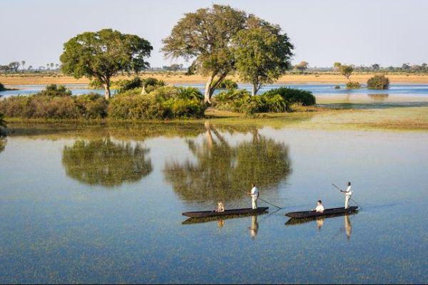 Jao Camp Botswana - Mokoro Landscape - Dana Allen