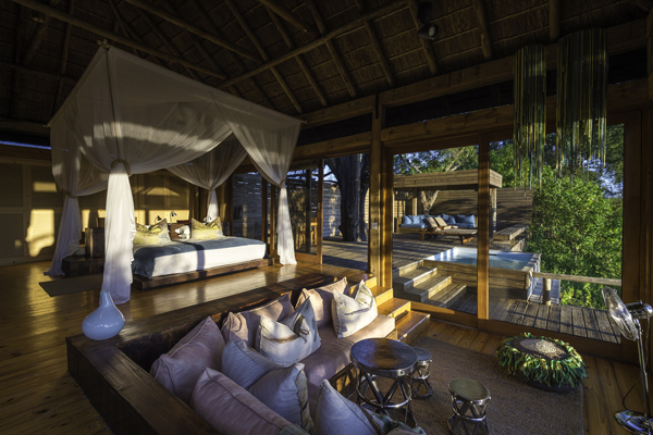 Botswana Vumbura suite with infinity pool Great Plains Dana Allen