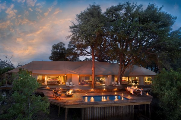 Botswana Zarafa Dhow suites Great Plains Okavango Delta