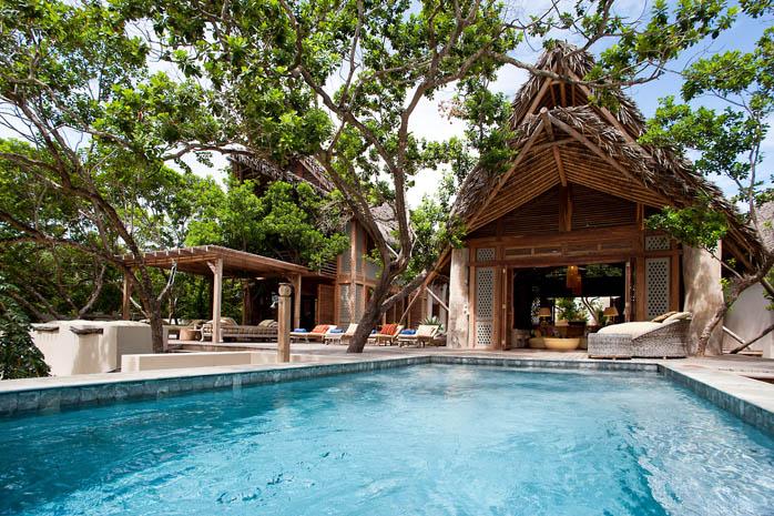 Aardvark Safaris Events Family Beach Holiday Vamizi Mozambique private villa with pool