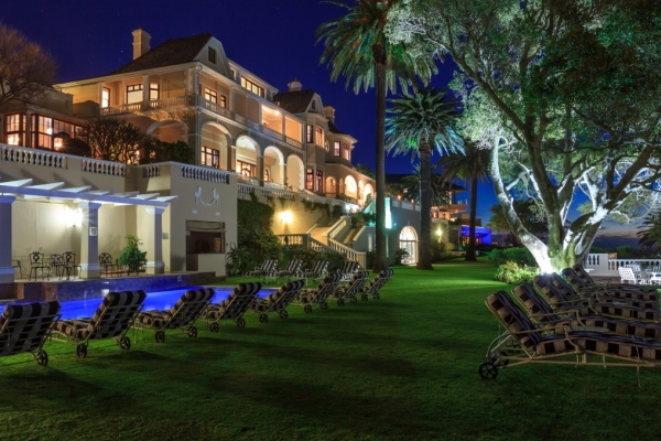 Ellerman House Cape Town South Africa night-garden-@EllermanHouse
