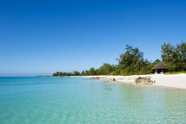 Tranquil beach at Vamizi Island, Mozambique