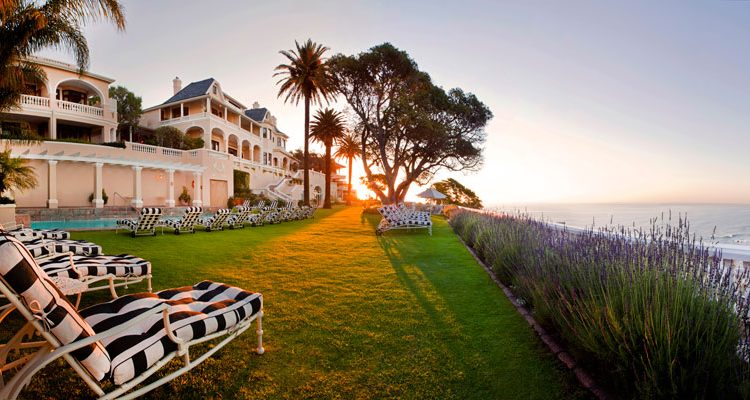 Ellerman House, beach view luxury hotel with sea views, Cape Town, South Africa