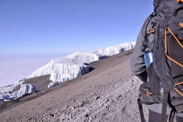 A-glacier-hiker_Kilimanjaro