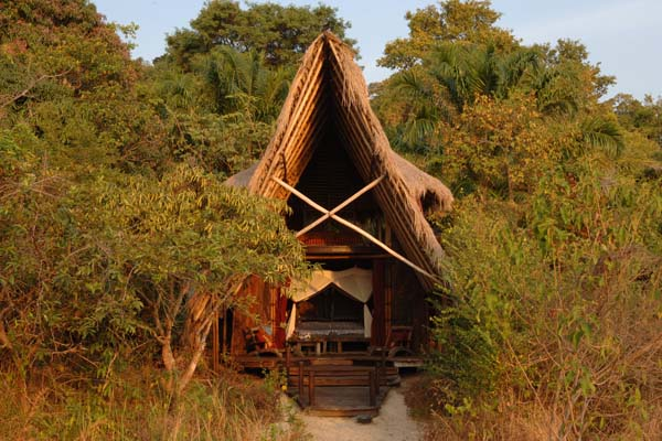Greystoke-Mahale-banda-entrance-nomad-tan seeing primates