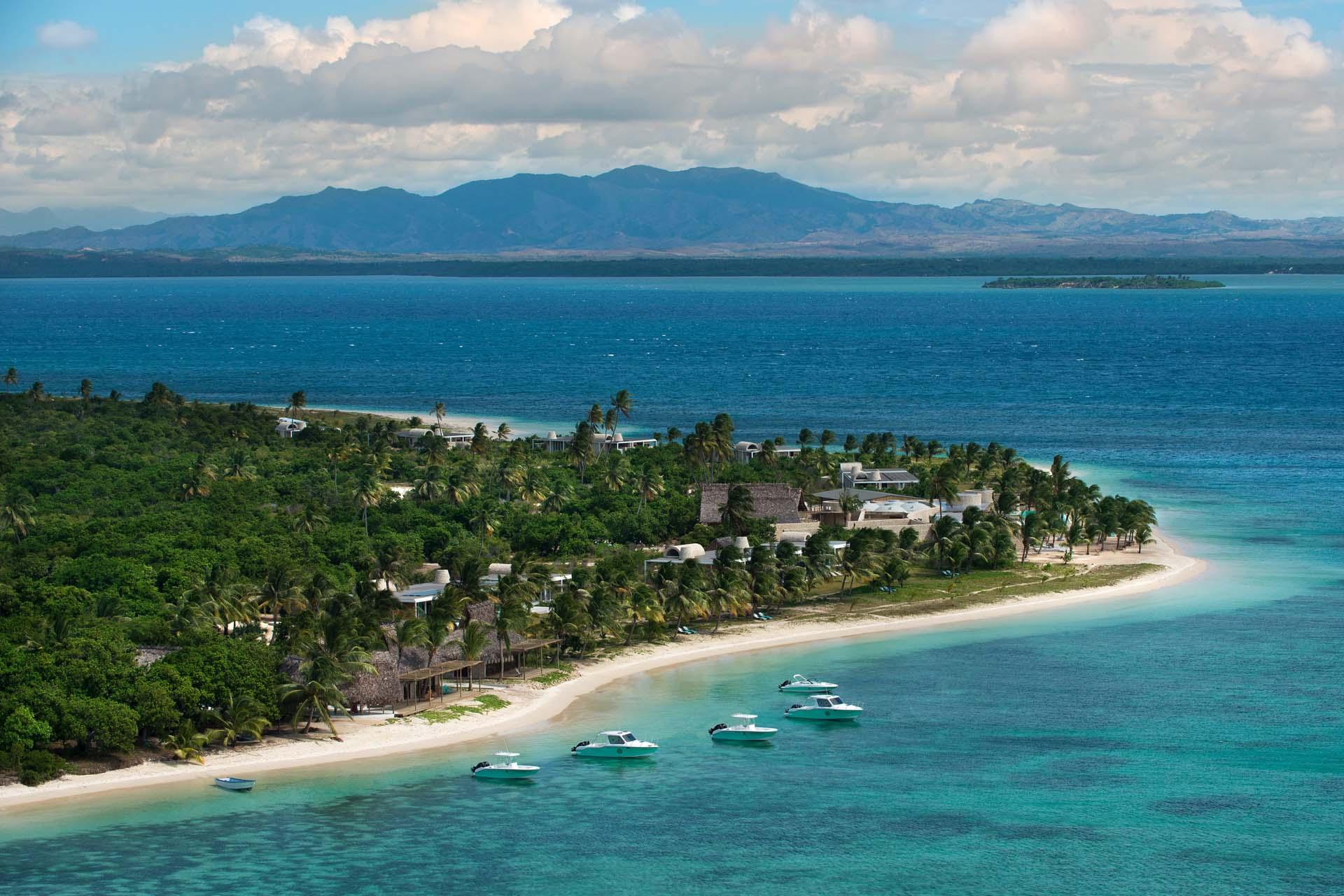 Time + Tide Miavana private island Nosy Ankao Madagascar - beach aerial