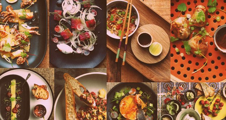 dine local in cape town montage of food © Chefs Warehouse