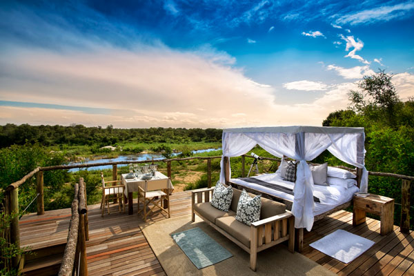 Romantic treehouse honeymoon at Lion Sands South Africa