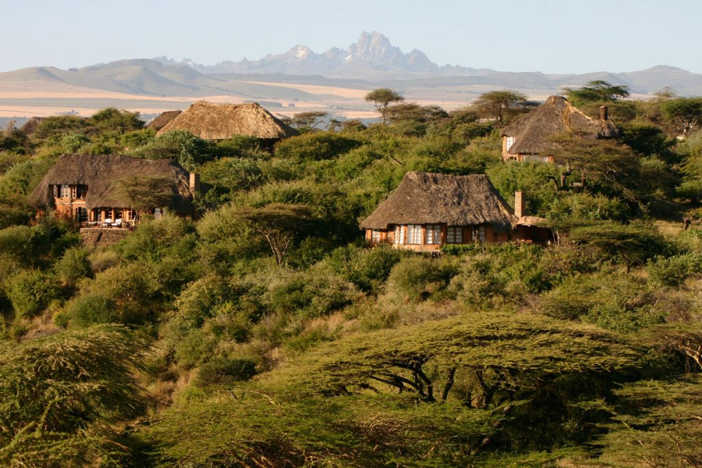 Lewa Wilderness, set in the shadows of Mount Kenya