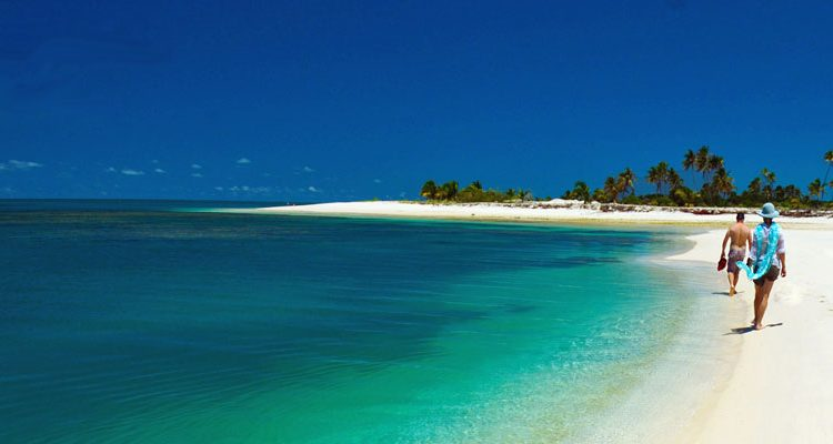 Indian Ocean island resorts -Miavana Madagascar's white sand beachfront setting