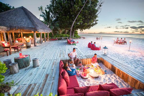 North Island beach dining