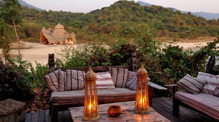 Greystoke Mahale sunset on the beach, Tanzania - beaches with adventure