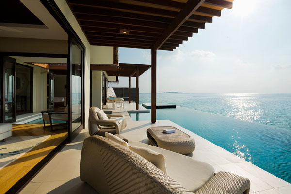 Private infinity pool, Niyama by Per Aquum, Maldives
