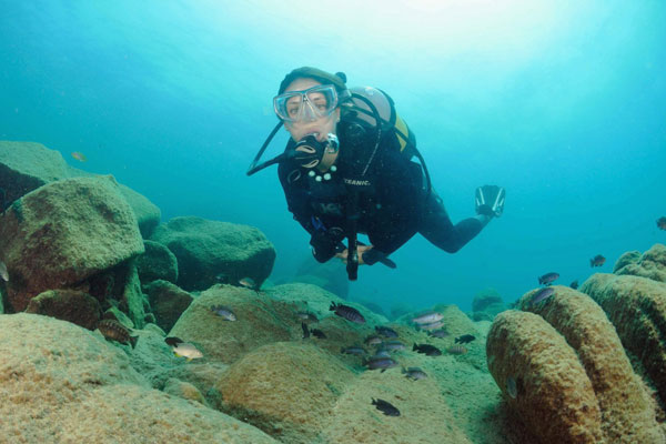 Scuba diving Lake Malawi Kaya Mawa