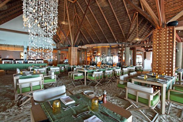 Manta restaurant, Moofushi Maldives