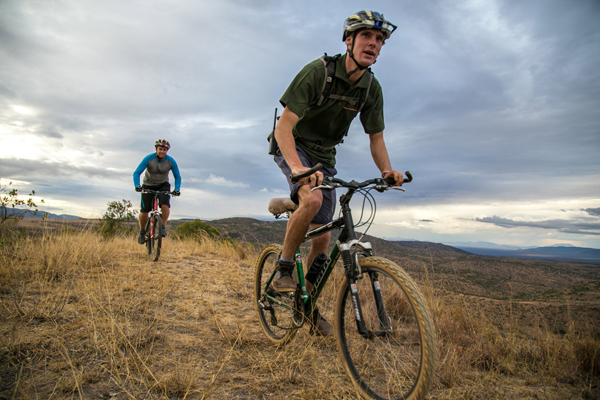 Mountain biking at Borana