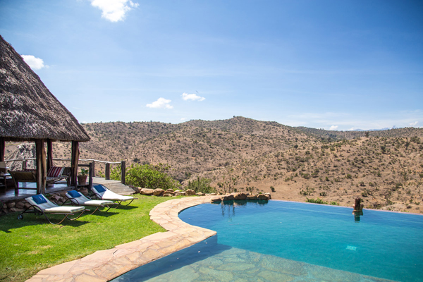 Infinity pool at Borana