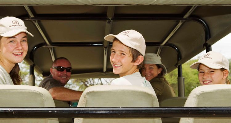 safari holiday with teenagers - game drive