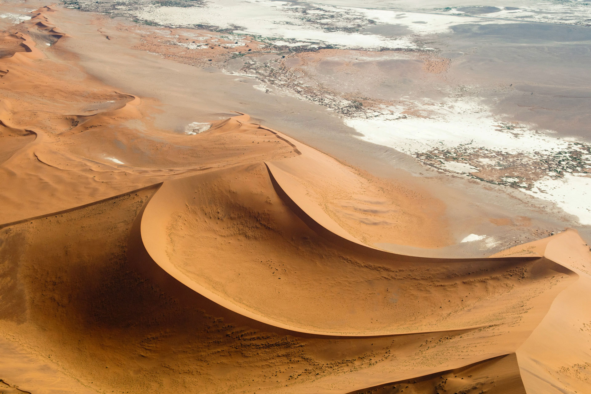 Where is this Namibian desert?