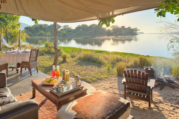 Time + Tide Chongwe Camp, Lower Zambezi, Zambia