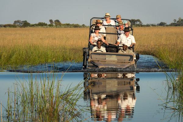 Kwetsani camp game drives, Okavango Delta, Botswana