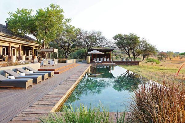Singita Serengeti private house, Tanzania