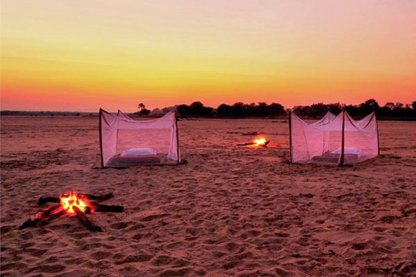 Norman Carr safaris, Return To The Wild sleep out, Zambia