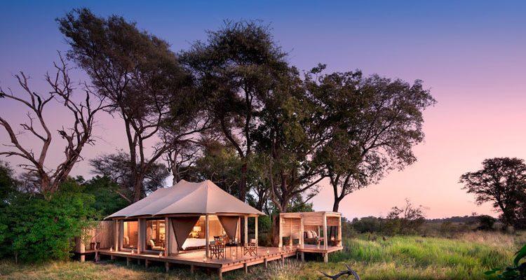 Luxury tents - Nxabega Okavango Tented Camp