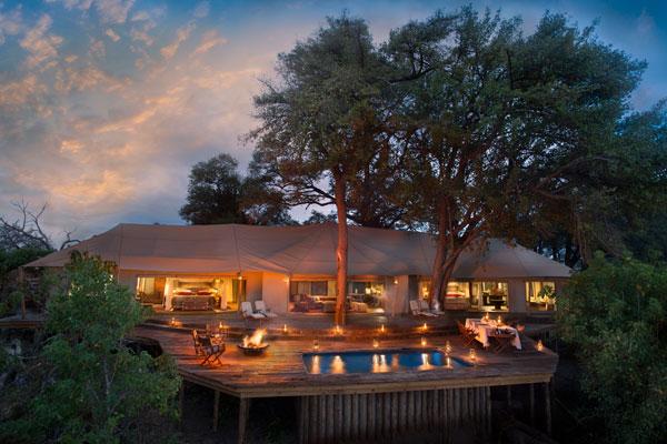 Zarafa Dhow Suites, Okavango Delta, Botswana