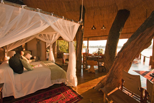 The Treehouse, Tongabezi, Zambia