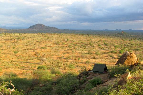 The wilderness awaits. Karisia walking safari, Laikipia, Kenya